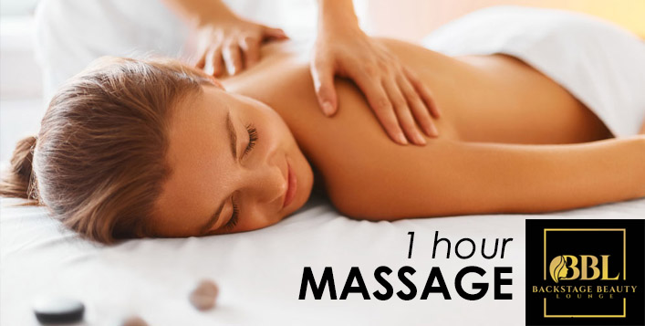 1hr Massage for Ladies