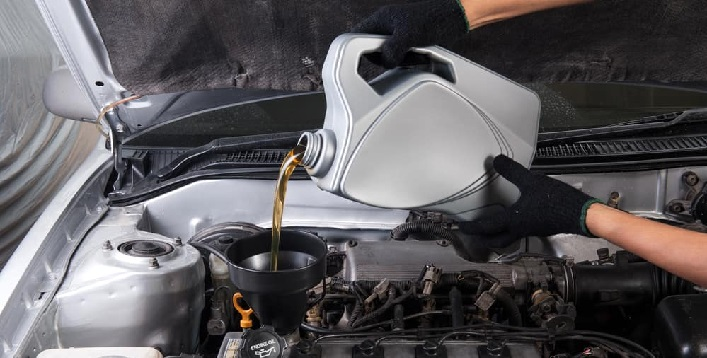 Engine Oil Change Package