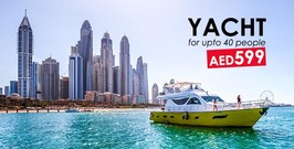 Yacht for upto 40