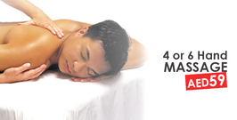 4 or 6 Hand Massage Al Barsha.